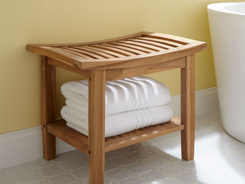 Bathroom Bench Seat Storage