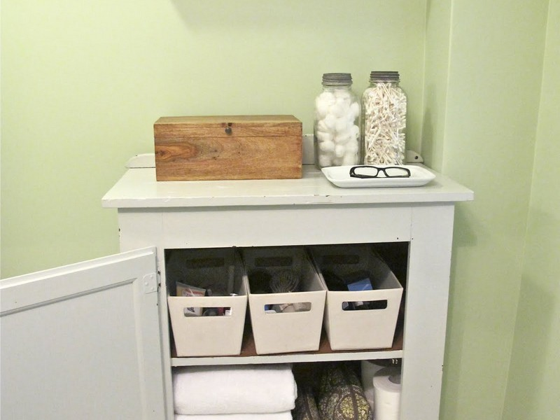 Bathroom Cabinet Organizers Pinterest
