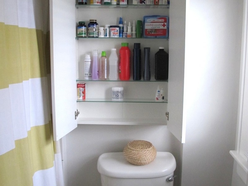 Bathroom Closet Shelving Ideas