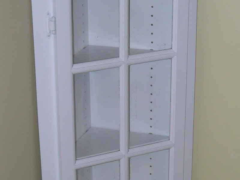 Bathroom Corner Cabinet Plans