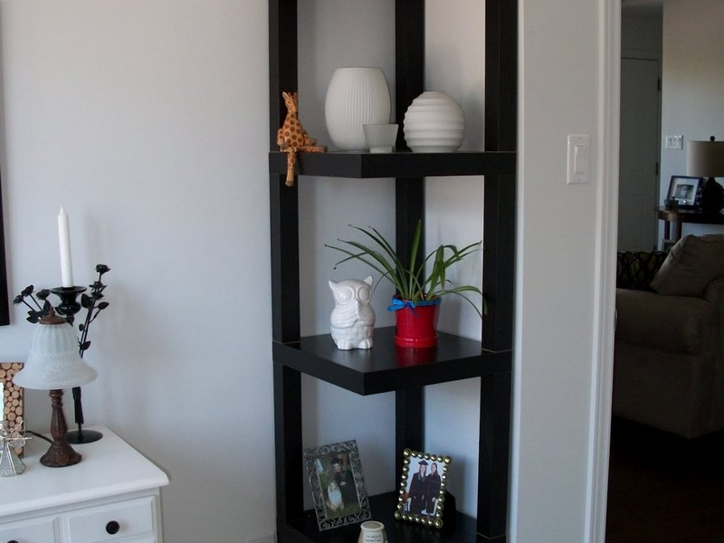 Bathroom Corner Shelves Ideas