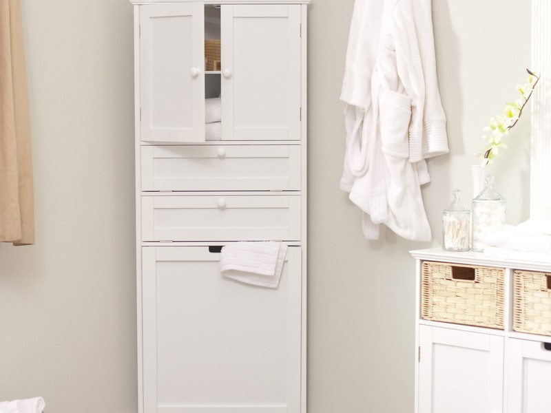 Bathroom Corner Wall Cabinets White