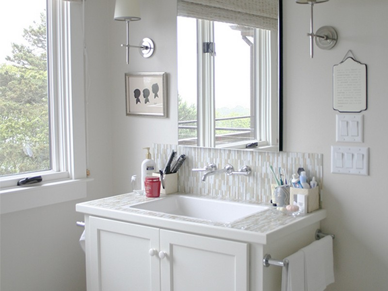 Bathroom Counter Organizer Ideas