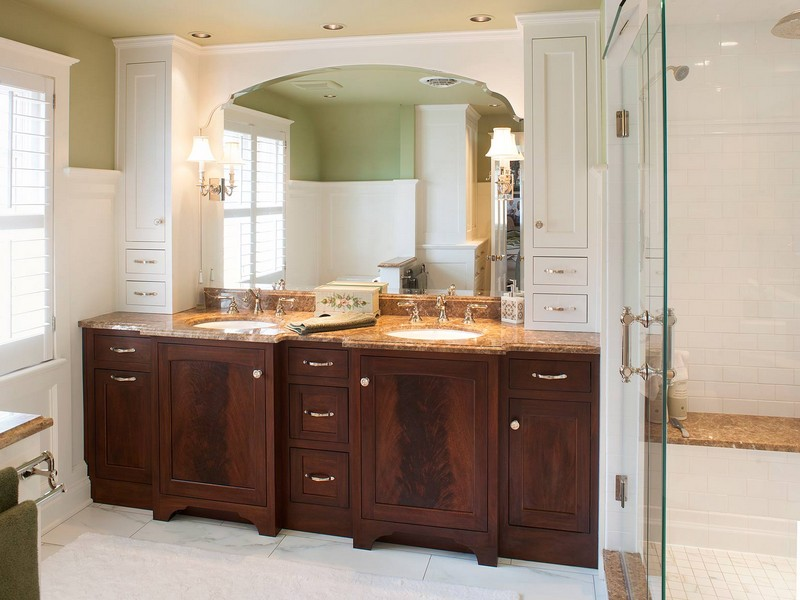 Bathroom Countertop Storage Cabinet