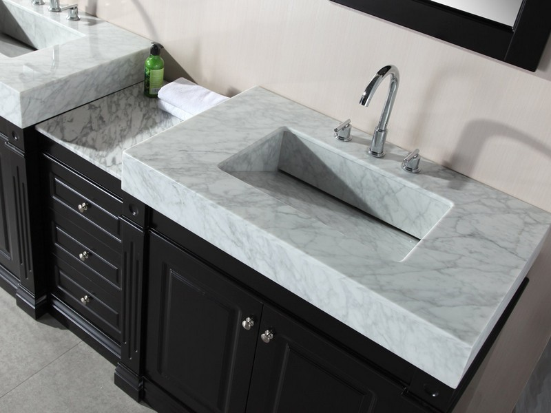 Bathroom Countertops With Integrated Sinks