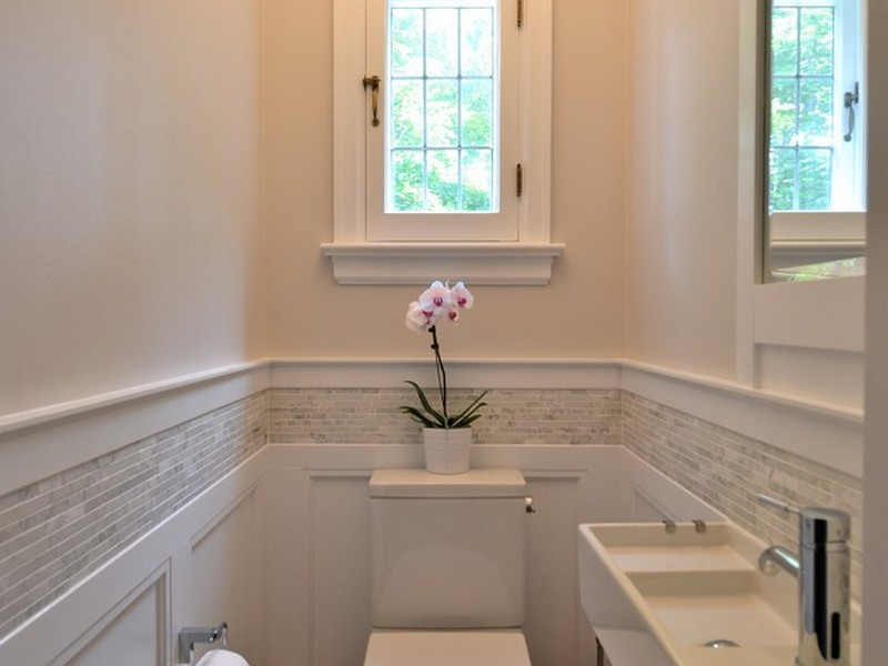 Bathroom Crown Molding Ideas