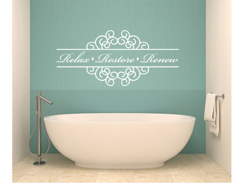 Bathroom Decals For Walls