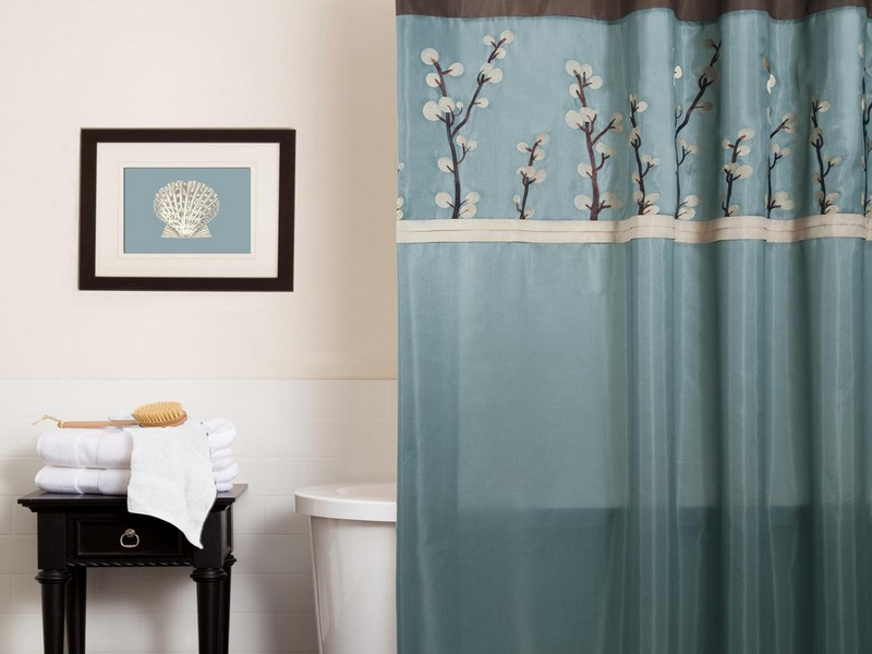 Bathroom Decorating Ideas Shower Curtain