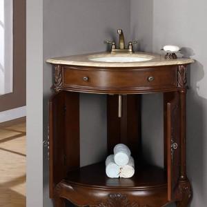 Bathroom Designs With Corner Vanities