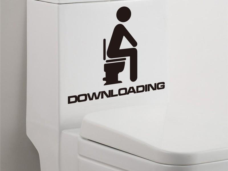 Bathroom Door Signs For Home