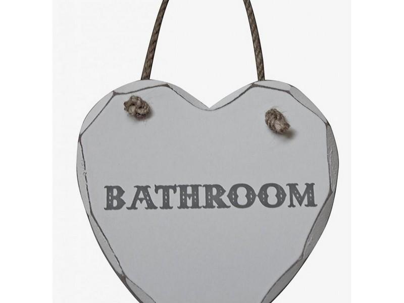 Bathroom Door Signs Plaques