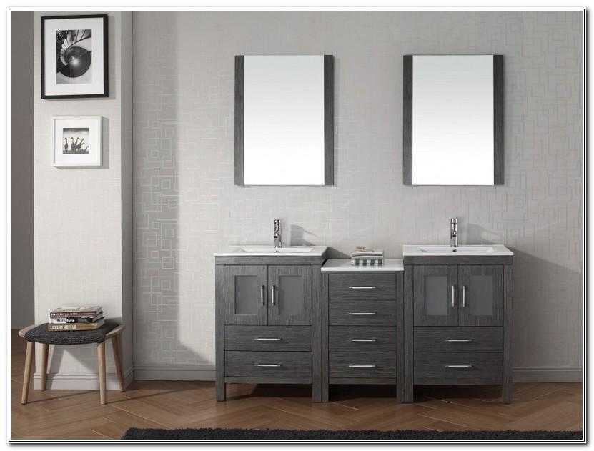 Bathroom Double Vanities With Tops
