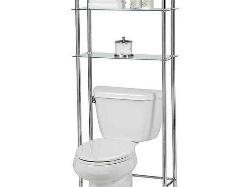 Bathroom Etagere Chrome