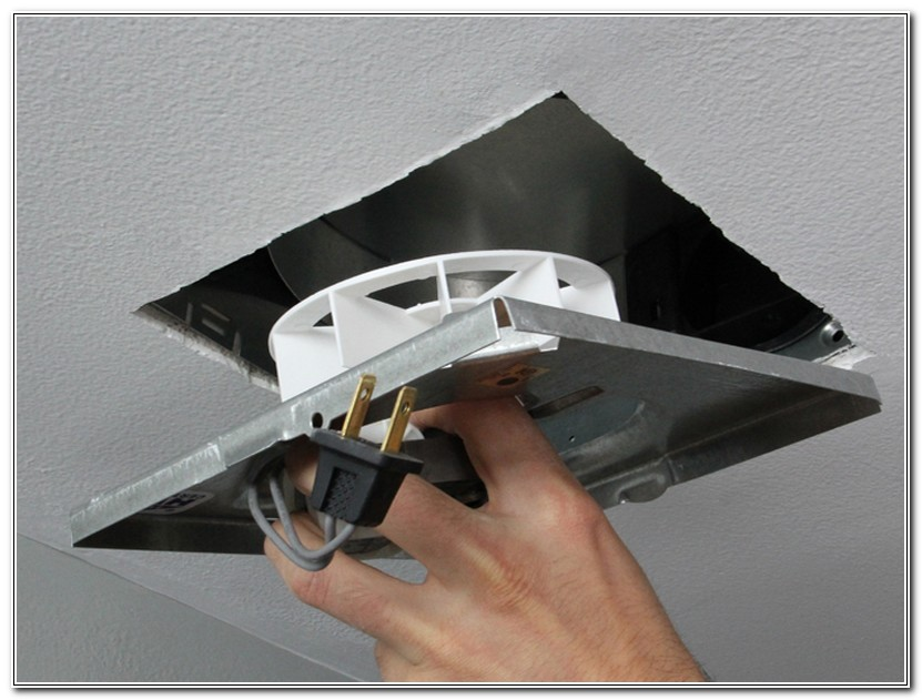 Bathroom Exhaust Fan Cover Removal