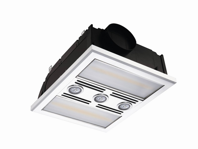 Bathroom Exhaust Fan With Light And Heat
