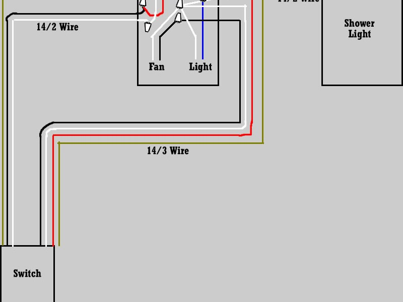 Bathroom Fan Heater Wiring