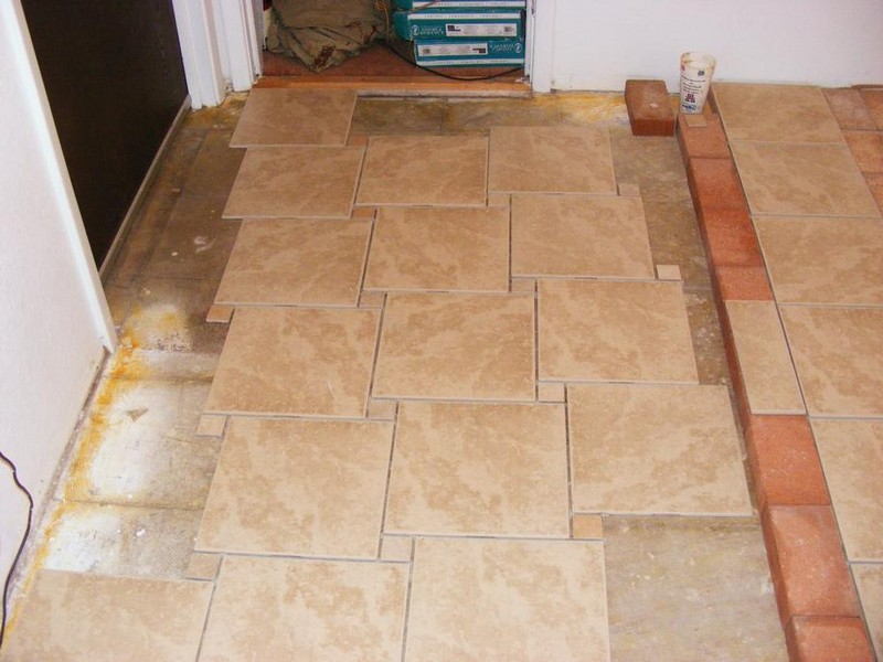 Bathroom Floor Tile Layout Patterns