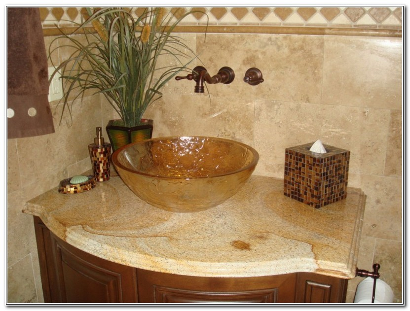 Bathroom Granite Countertop Ideas