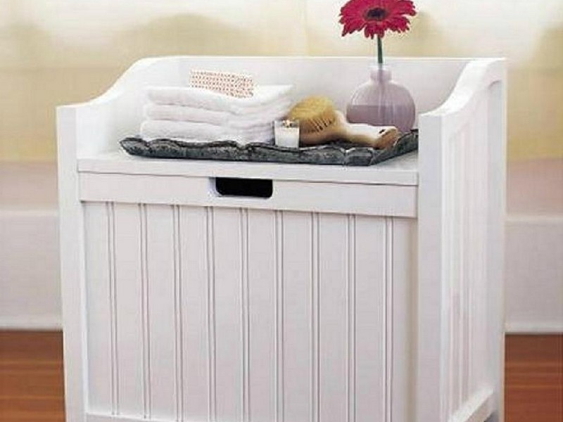 Bathroom Hampers With Storage