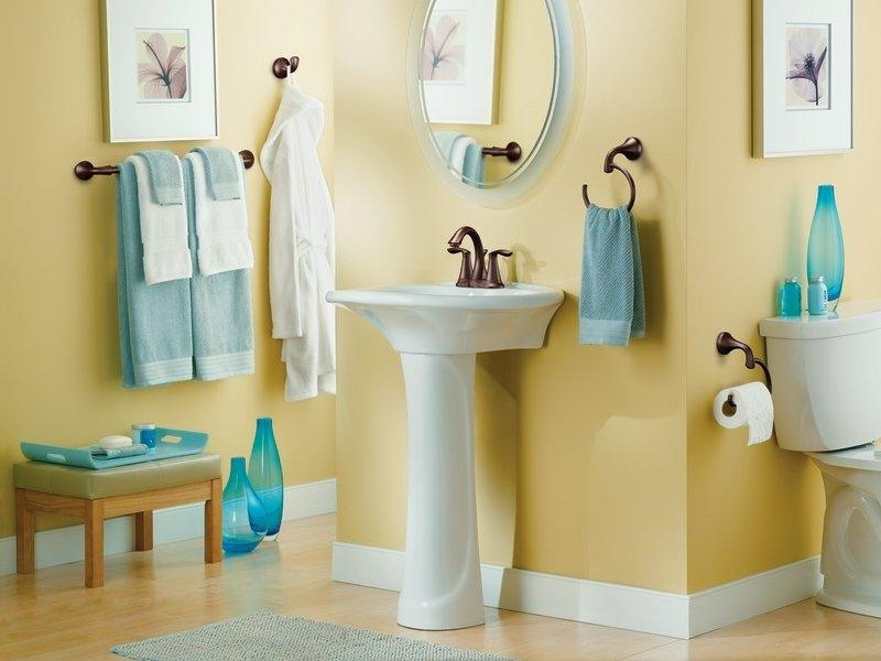 Bathroom Hand Towel Holder Height