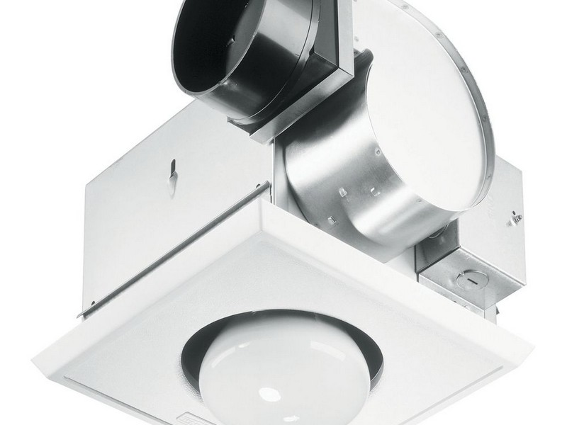 Bathroom Heat Lamp Exhaust Fan