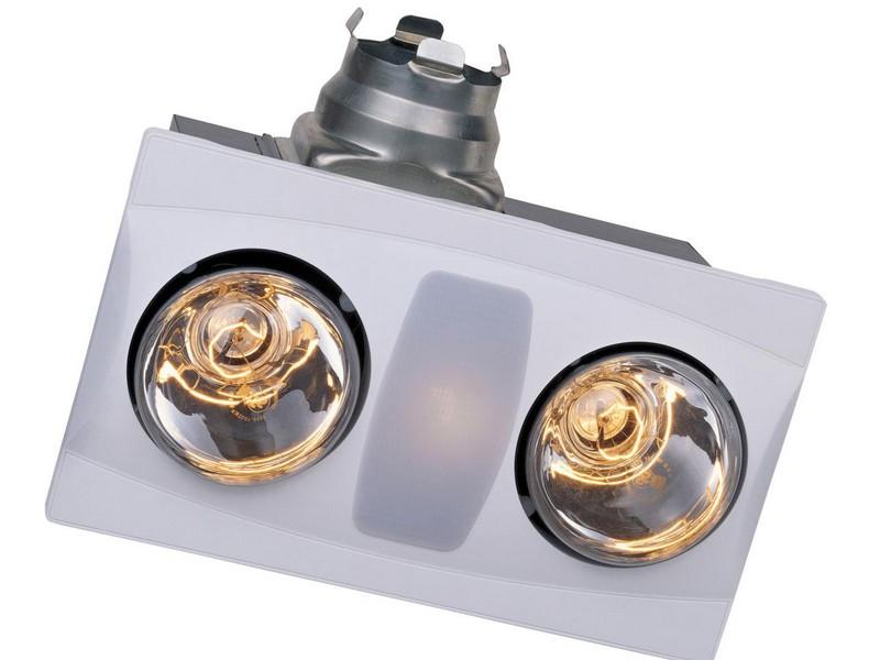 Bathroom Heater Vent Light Combo