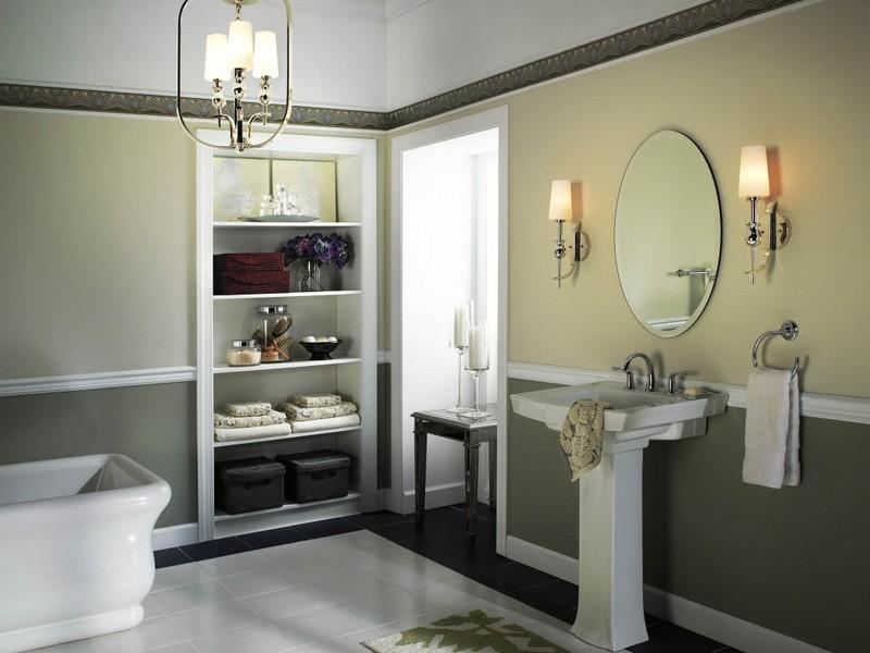 Bathroom Ideas With Brass Fixtures