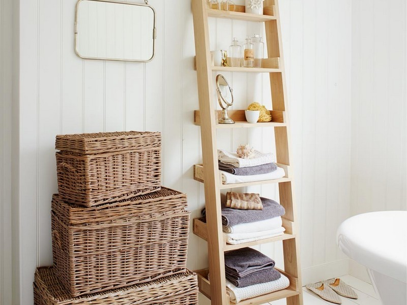 Bathroom Ladder Shelf Uk