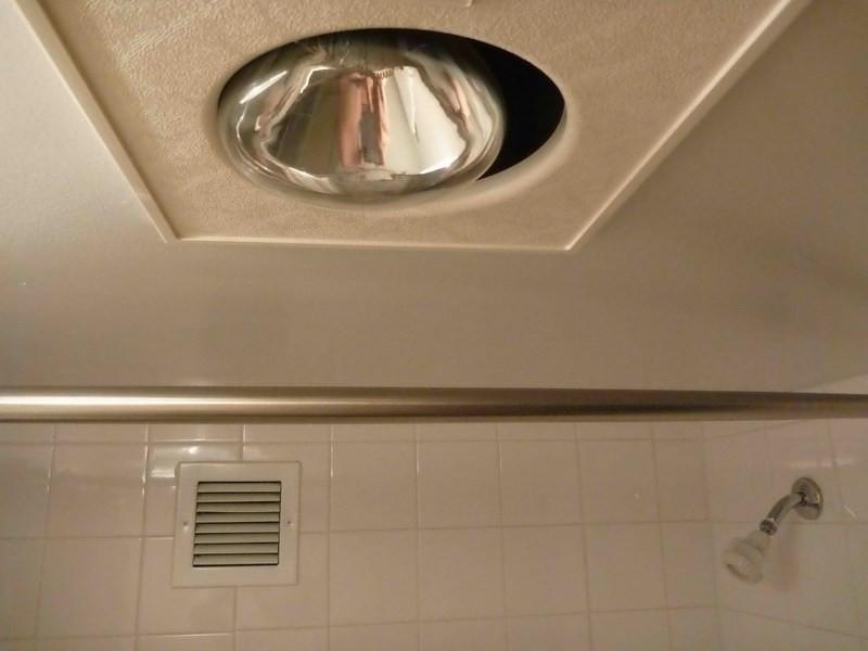 Bathroom Light Fan Combo Fixture