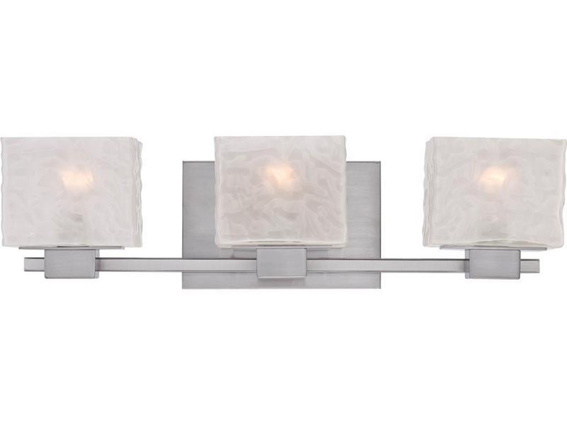 Bathroom Light Fixtures Brushed Nickel Finish