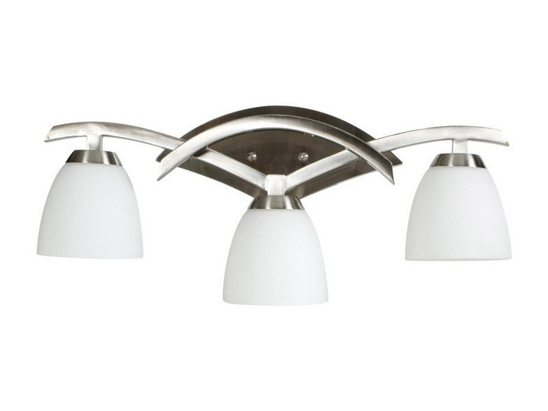 Bathroom Light Fixtures Brushed Nickel Lowes
