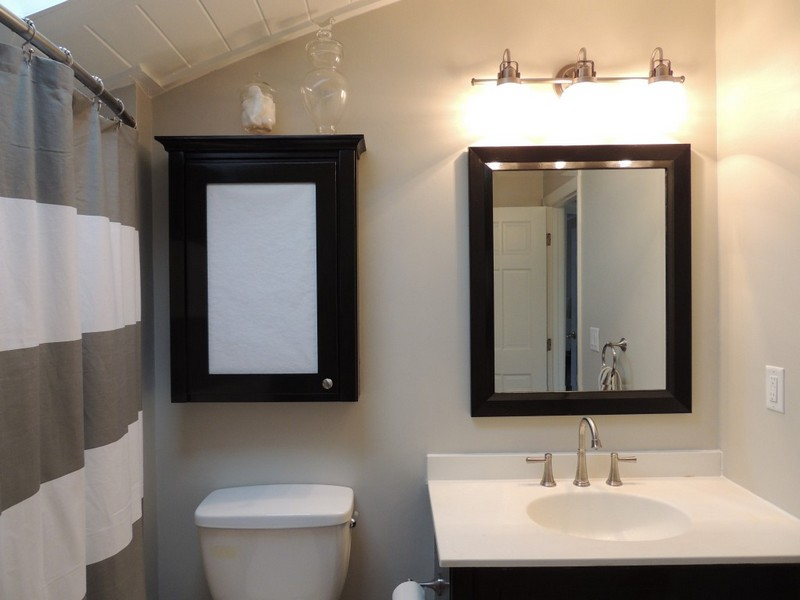 Bathroom Light Fixtures Over Mirror Home Depot