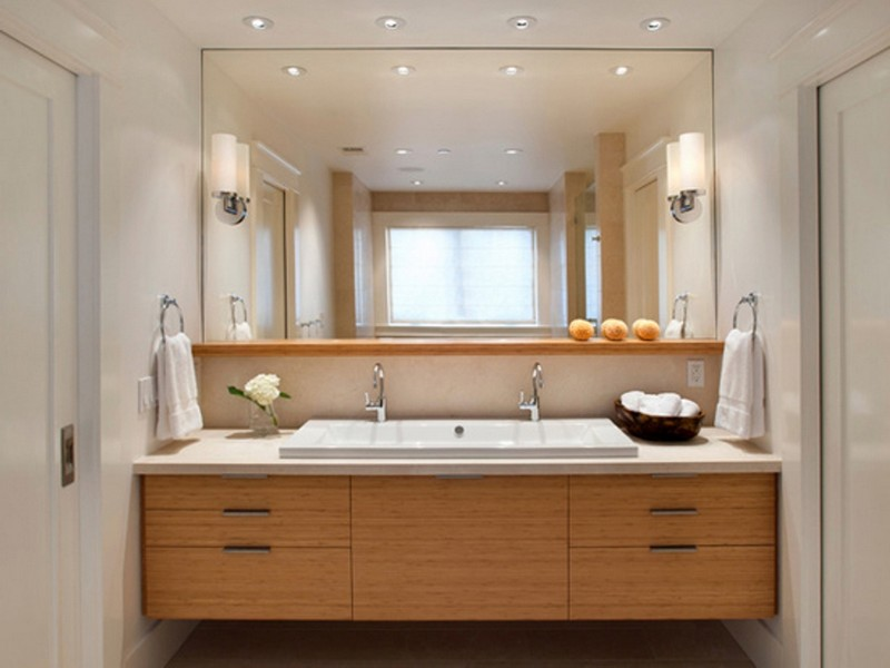 Bathroom Lighting Ideas Double Vanity