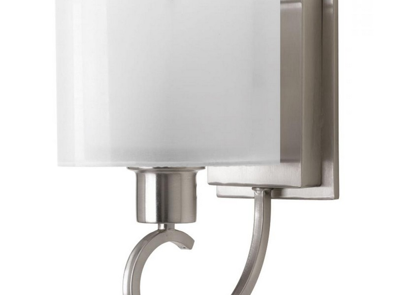 Bathroom Lighting Sconces Brushed Nickel