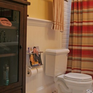 Bathroom Magazine Holder Floor