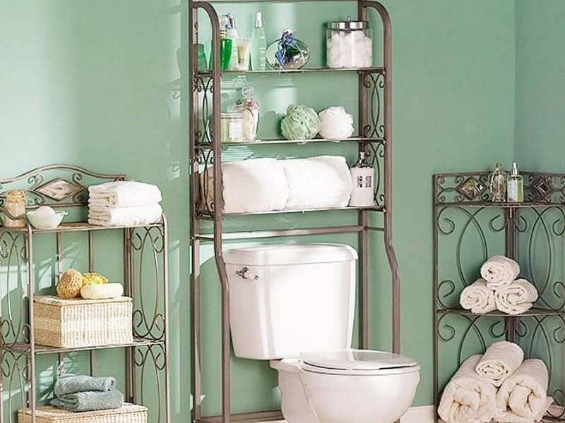 Bathroom Metal Etagere