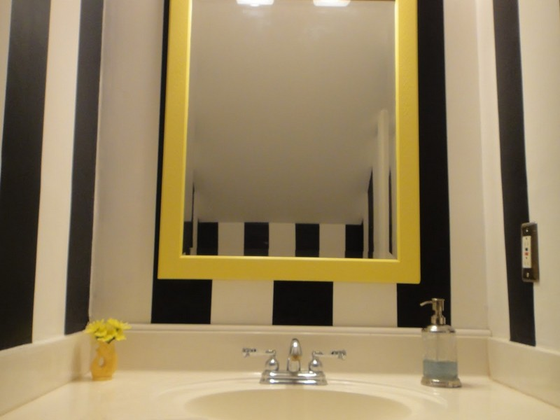 Bathroom Mirror Decals