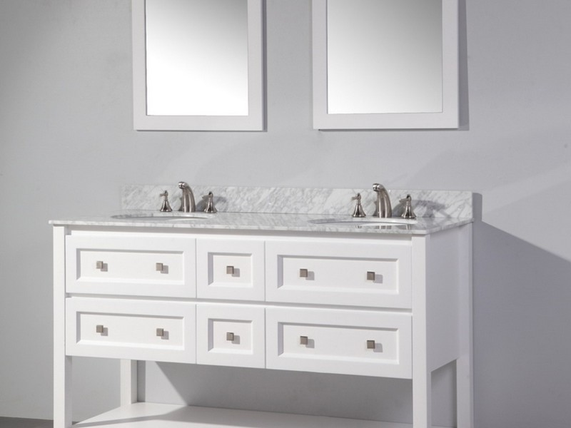 Bathroom Mirror For 60 Inch Vanity