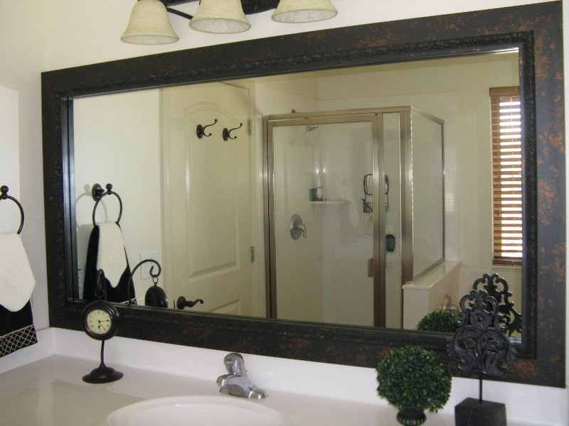 Bathroom Mirror Frame Kits