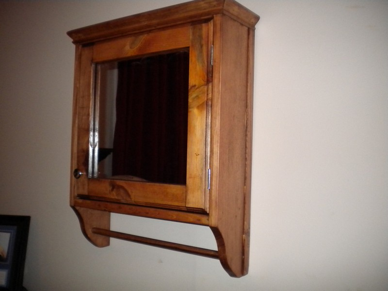 Bathroom Mirror Medicine Cabinet Wood