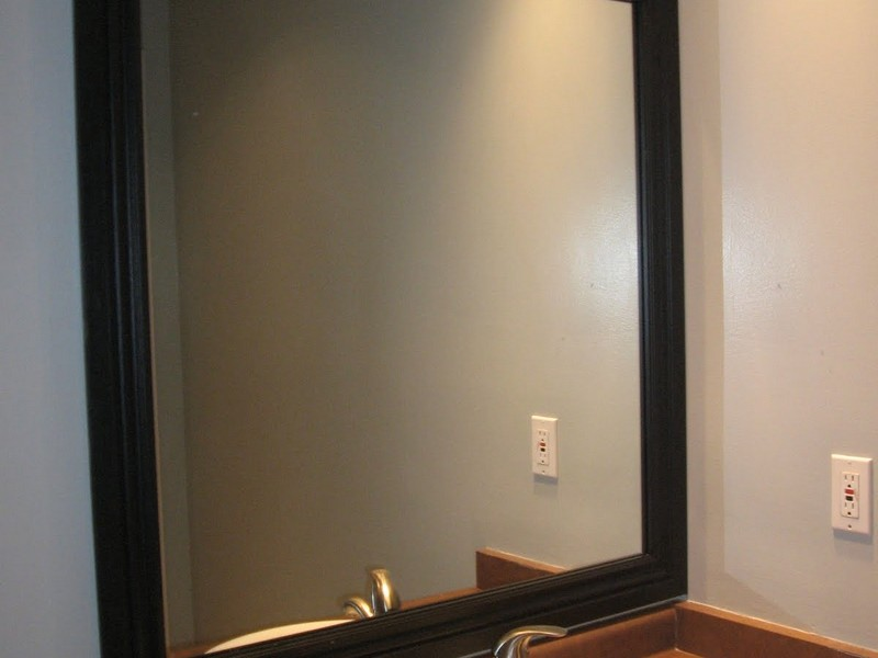 Bathroom Mirror Molding Frame