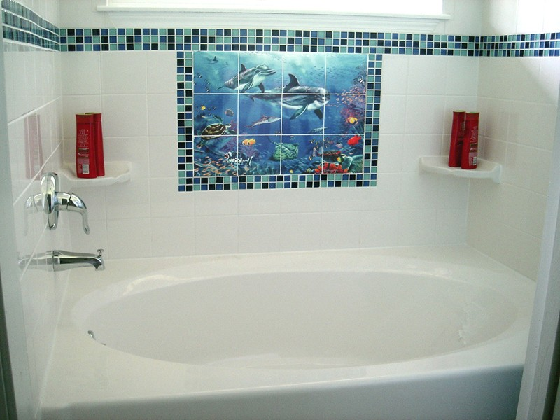 Bathroom Murals Uk