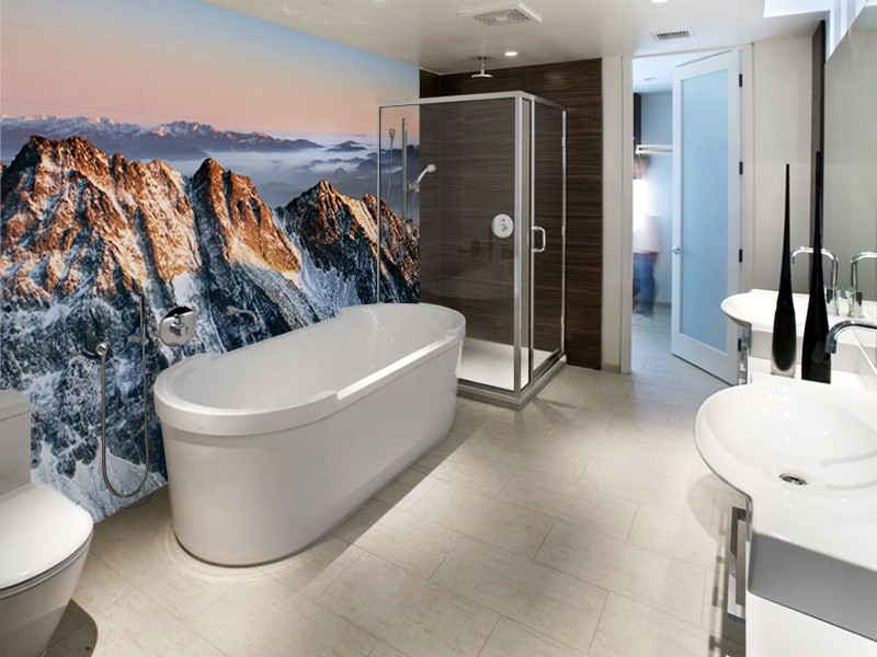 Bathroom Murals Wallpaper