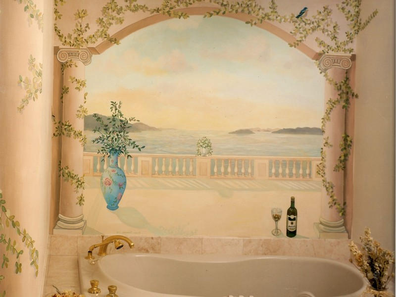 Bathroom Murals