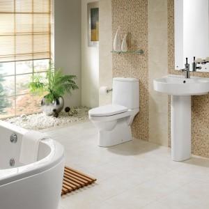 Bathroom Pedestal Sink Backsplash Ideas
