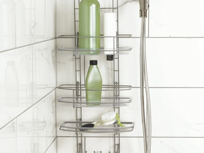 Bathroom Plastic Shower Caddy