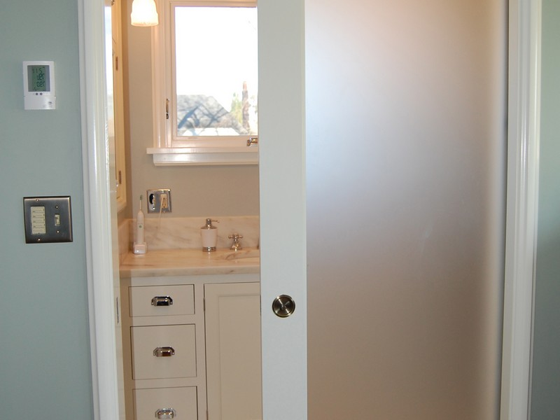 Bathroom Pocket Door Frosted Glass