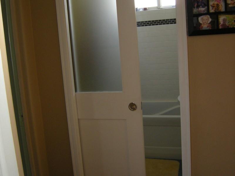 Bathroom Pocket Door Size
