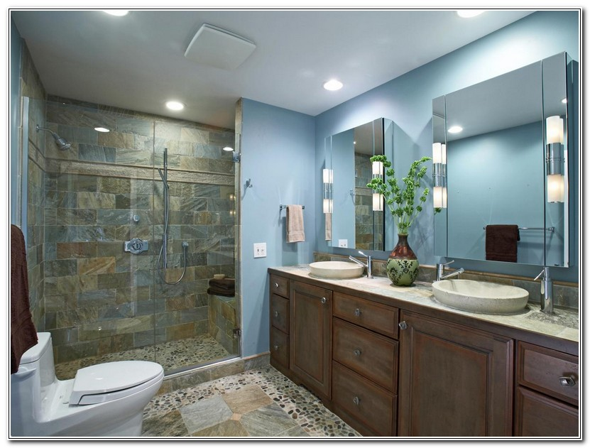 Bathroom Recessed Lighting Layout