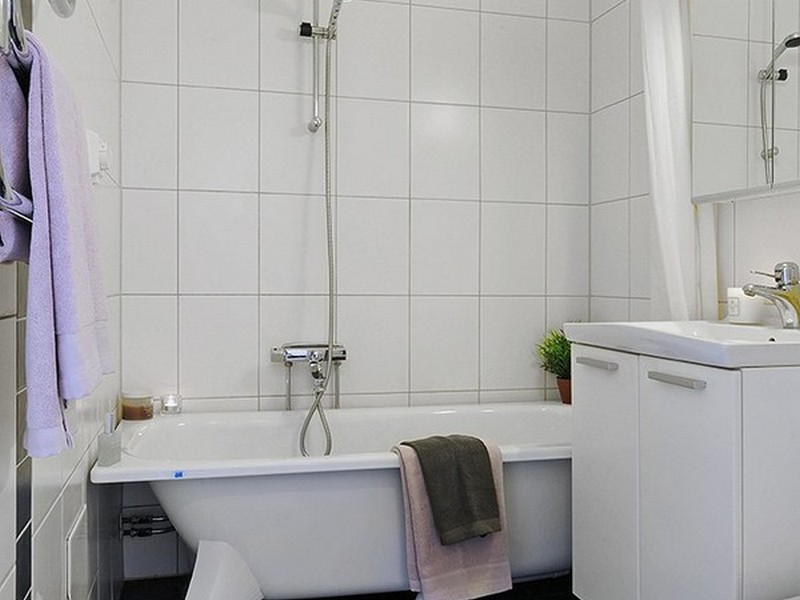 Bathroom Remodeling Pictures White Tile